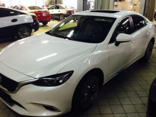 Mazda 6 - атигравийное покрытие (комплекс), оклейка крыши в чёрный цвет