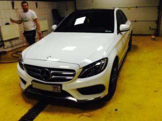 Mercedes-Benz - тонировка стекол: боковых и заднего