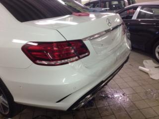 Mercedes-Benz - полная антигравийная защита кузова