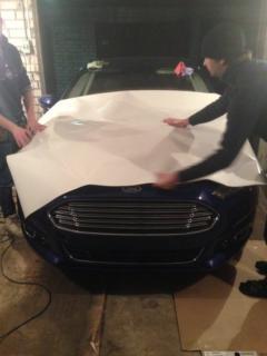 Ford Mondeo - антигравийное покрытие (комплекс)