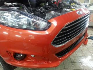 Ford Fiesta - оклейка антигравийной плёнкой