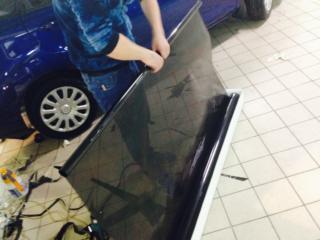 Ford Fiesta - тонировка стёкол