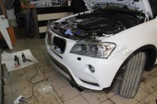BMW X3 - антигравийное покрытие