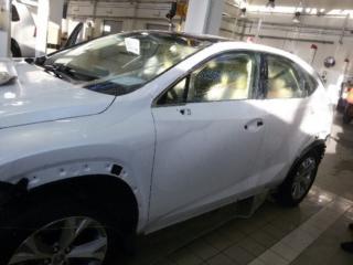 Lexus NX 200 - антигравийная защита всего кузова