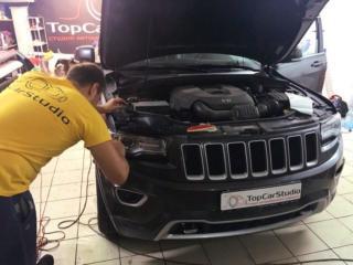 Jeep Grand Cherokee - полная антигравийная защита