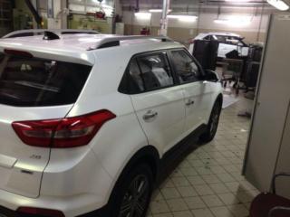 Hyundai Creta - полная оклейка кузова цветной пленкой