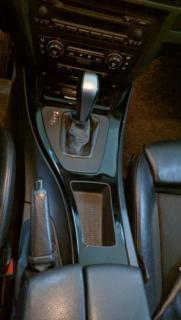 Оклейка элементов салона BMW 3 Series декоративной пленкой