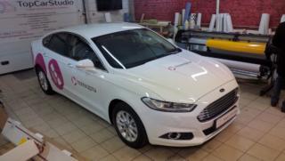 "Ford Mondeo - брендирование для проекта ""Телекарта"""