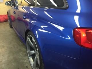 Audi RS4 - керамическая защита кузова