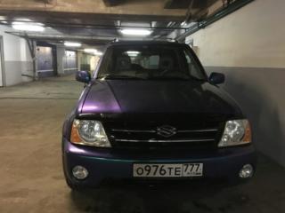 Suzuki Grand Vitara XL-7 - полная оклейка плёнкой «хамелеон»