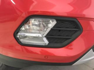 Ford Kuga II - полная оклейка белого кроссовера красной пленкой