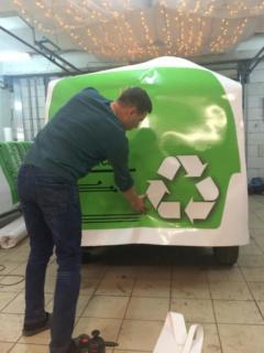 Брендирование авто для Центра утилизации ЭЛИОС