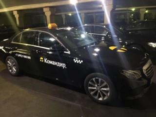 Брендирование автомобилей службы такси «Командир»