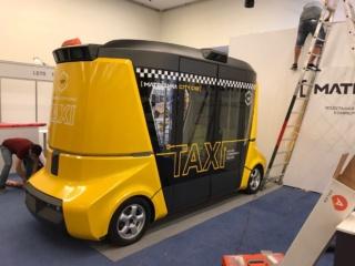 Оклейка прототипа «MATRESHKA CITY CAB» для участия в выставке